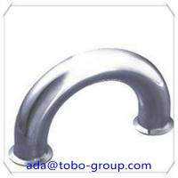 Quality LR 180 Degree Pipe Elbow 8 Inch Carbon Steel Pipe Fittings Elbow Sch40 wholesale