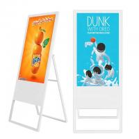 Quality Portable Floor Standing Digital Signage 43 Inch With Android OS Digital Menu Board wholesale