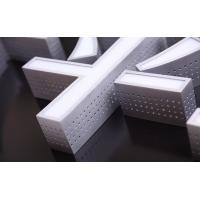 Quality Aluminum Metal Side LED Channel Letters Sign Outdoor Decoration Trademark wholesale