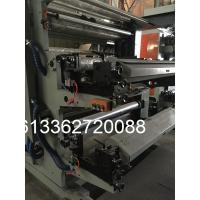 Cheap Fully Automatic Flexographic Printing Machine , 6 Color Non Woven Bag Printing Machine for sale