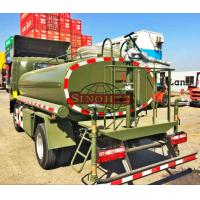 Quality 1000 - 1200 Gallons Army Water Truck , 4x2 / 4x4 Drive Type Water Sprinkler Truck wholesale