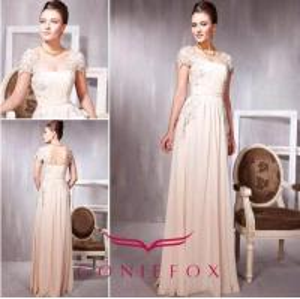 Quality elegant beige appliqued sherri hill prom dresses 2012 wholesale