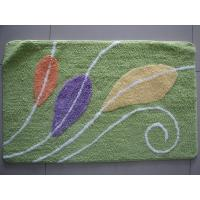 China Hotel Entrance Green Carpet Door Mat , Non-Slip Rug With Latex Back on sale
