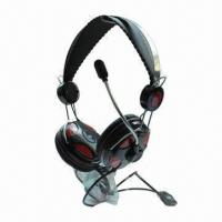 China New Metallic Headset, Perfect for Listening Music, Chatting and Online Video Games on sale