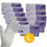 Quality Medical Disposable Natural latex examination gloves wholesale