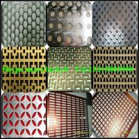 Quality Decorative aluminum perforated metal wholesale