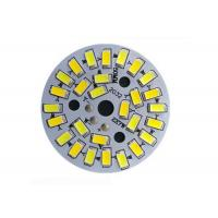 Quality 5730 SMD Dimmable LED PCB Plate , Led Light Bulb Circuit Board With Integrated IC Driver wholesale