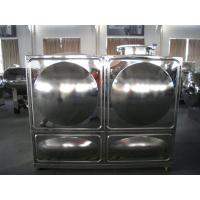 Quality Rectangular Combined Stainless Steel Water Tanks For Civil Buildings wholesale