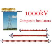Quality 1000kV AC Overhead Line Insulators , Suspension Type Composite Polymer Insulator wholesale