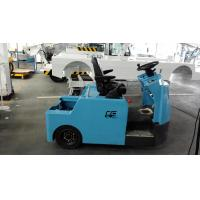 Quality Blue Baggage Towing Tractor Carbon Steel Material With Lead Acid Battery wholesale