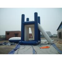 Quality Lead - Free Backyard Water Games , Kids Inflatable Slide For Inground Pool wholesale