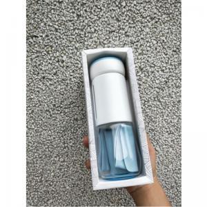 Quality high borosilicate glass bottle anti burst glass drinking bottle with polypropylene cover wholesale