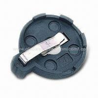 China 3V Button Cell Lithium Battery Holder, Suitable for One CR2032 Coin Cell, Horizontal and THM Type on sale