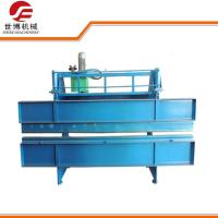 China 0.3 - 0.7 mm Thickness Sheet Metal Folding Machine With 4 Meters Length on sale