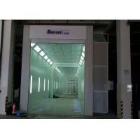 Buy cheap 11 Meters Industrial Truck Spray Paint Booth Roller Door 11X5X5 M Internal Size product