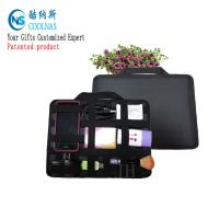 Quality Neoprene Grid It Gadget Organizer , Waterproof Electronics Organizer For Travel wholesale