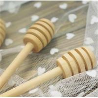 Quality Hot Sale Classic Wooden Honey Dippers Wood Honey Dipper Bulk Honey Accessories 16x2.8cm 100pcs lot wholesale