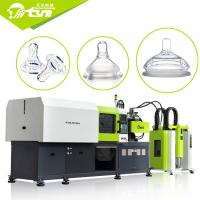 China Liquid Automatic Injection Molding Machine , Silicone Teat Baby Milk Bottle Machine on sale