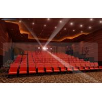 Quality Upscale 4D Cinema System With Motion Chair And Cinema Special Effects wholesale