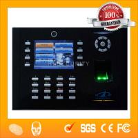 Quality Recordable Photo Taken Support Time Attendance Clock iclock600 wholesale