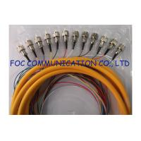 Quality SC 0.9mm ODF Fiber Optic Pigtail / Distribution Fan Out Single Mode Pigtail wholesale