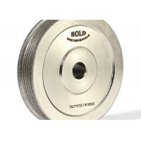 Cheap Multi Groove Electroplated Grinding Wheels CBN Profile Grinding Wheel for sale
