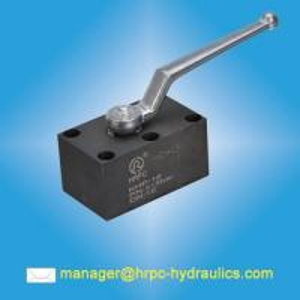 China HRPC brand hydraulic pressure 315bar manifold mounted ball valves on sale