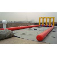 Quality Kids Inflatable Bounce House Inflatable Football Game For Kindergarten wholesale