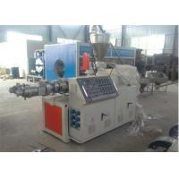China High Capacity Twin Screw Extruder PVC Pipe Extrusion Machine CE / ISO9001 on sale