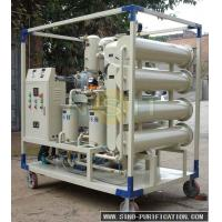 3000LPH VFD -50 Used Transofrmer Oil Filter Machine , Oil Purifier System SGS Approved