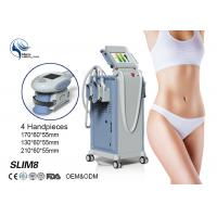 Quality 4 Handpieces Cold Lipolysis Criolipolisis Slimming Machine , Body Weight Loss Sculpting Machine wholesale