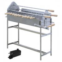China Traditional Greek Cypriot Charcoal Barbeque & Rotisserie Motor Cyprus BBQ Grill on sale