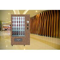 Quality Touch Screen Red Wine Vending Machine / Vending Kiosk With Multi Languages UI wholesale