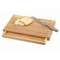 Quality square bamboo cutting board rubber edge protection wholesale