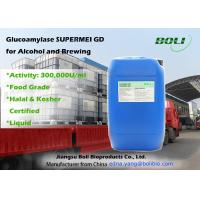 Quality Glucoamylase For Saccharification , Liquid Glucoamylase Hydrolytic Enzymes For Alcohol And Brewing wholesale