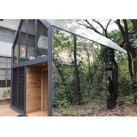 China Fast Install Prefab Loft Homes Soundproof Flash Aviation Aluminum Mobile Home on sale