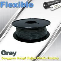 Cheap Rapid Prototyping 1.75 / 3.00mm Flexible 3d Printer Filament 0.8KG / Roll for sale