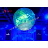Cheap Colorful Inflatable Balloon Led Light Inside , Prism Lighting Inflatable Light for sale