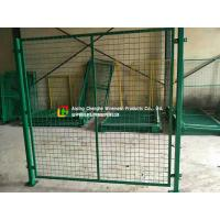 Quality Custom Warehouse Wire Mesh Fence / Railing 2100mm X 2400mm Panel Size wholesale