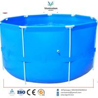 China Veniceton Collapsible Fish Tank ,500-10000 gallons Round Water Tank on sale