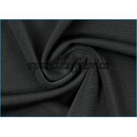 Quality 270gsm Heavy Weight Swimwear Fabric 43 Nylon 42 Polyester 15 Spandex Grossus Rib Pattern wholesale