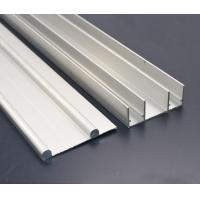 Cheap 8 - 10um Natural Anodized Aluminium Channel Profiles with CNC Machining Processing for sale