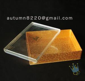 Quality BO (47) acrylic bread case wholesale