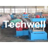 Quality 30KW, 3 Phase 50Hz 2 Wave Beam Roll Forming Machine With 10 - 12m/min Working Speed wholesale