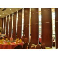 Quality Acoustic Room Dividers Movable , Sandwich Panel Walls Single Or Double Door wholesale