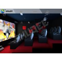 Quality Geneiue 4d Cinema Experience 4D Theater System Equipment Customize Outside Mode wholesale