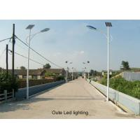 Quality OEM Solar Photovoltaic Street Lighting Systems , Solar Tracking Street Light System wholesale