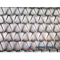 Quality Round Spiral Wire + Crimped Rod Wire Structure, Spiral Weave Mesh With SS & Al wholesale