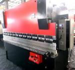 Quality 100 Tons Automatic press brake amada, manual power press metal buffing machine wholesale