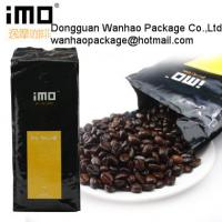 Cheap Customized Coffee Bean / Coffee Powder Stand Up Pouches For Food Packaging for sale
